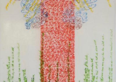 Kor. 1/13 Meditation 4 38 x 54