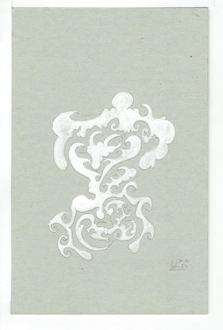 M12 13,5x21 Pappe,Graphit,L.Tusche 31.12.06