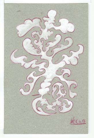 M17 13,5x21 Pappe,Farbstift,L.Tusche 06.04.17